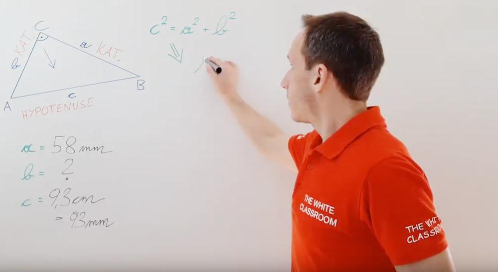 Pythagoräischer Lehrsatz - Basics | thewhiteclassroom.at