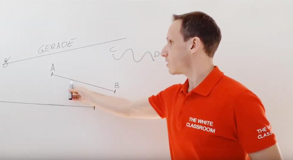 Strecke, Strahl, Gerade (1 Video)