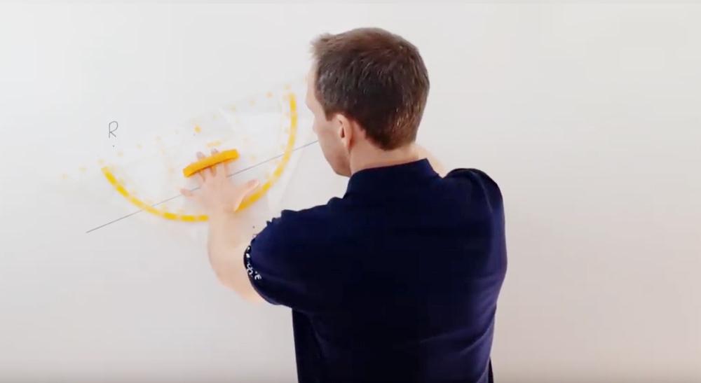 Zeichnen von Parallelen und Normalen | thewhiteclassroom.at