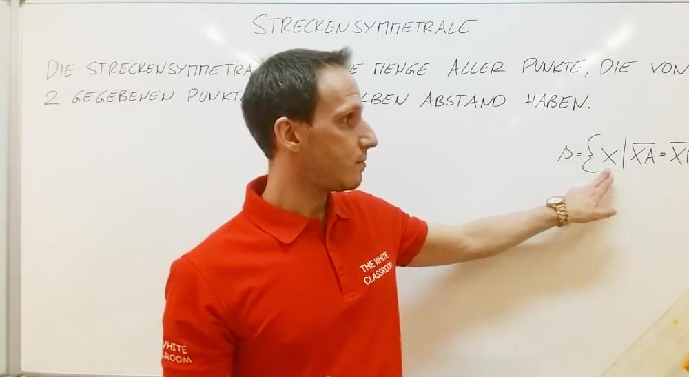 Streckensymmetrale | thewhiteclassroom.at