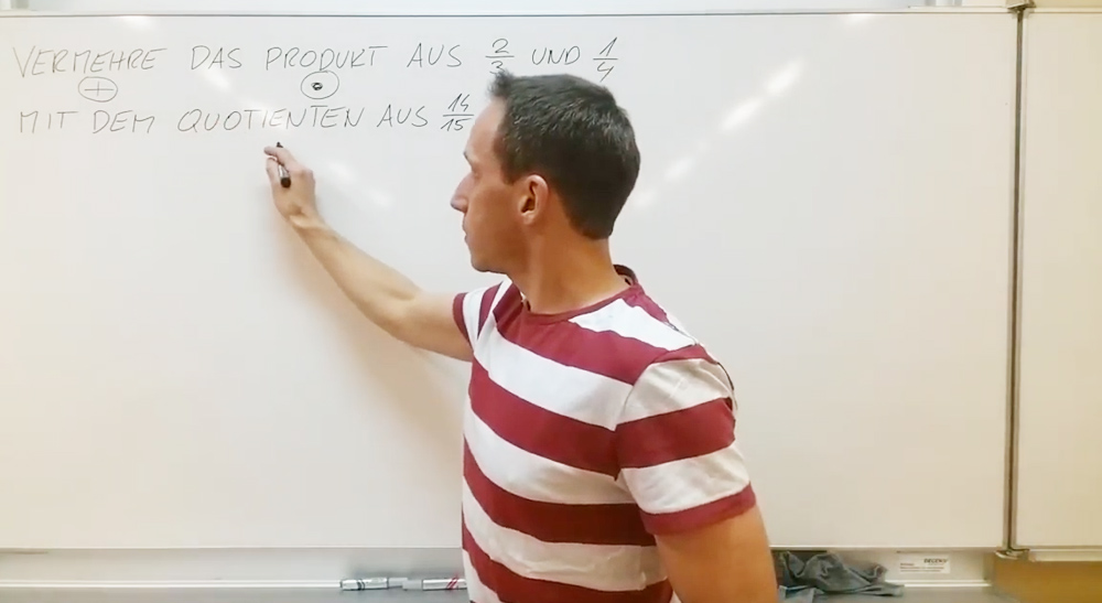 Textaufgaben zu Brüchen | thewhiteclassroom.at