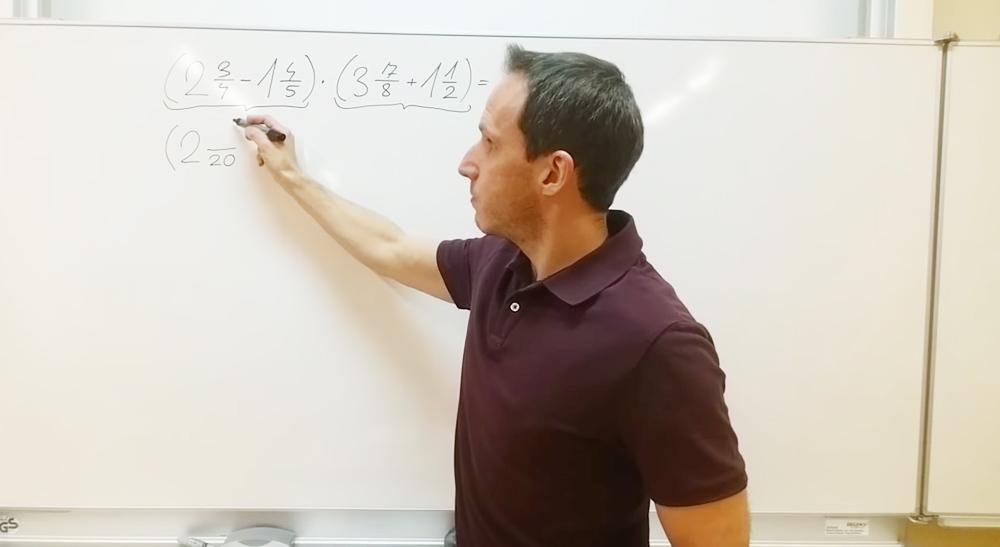 Verbindung der 4 Grundrechnungsarten | thewhiteclassroom.at