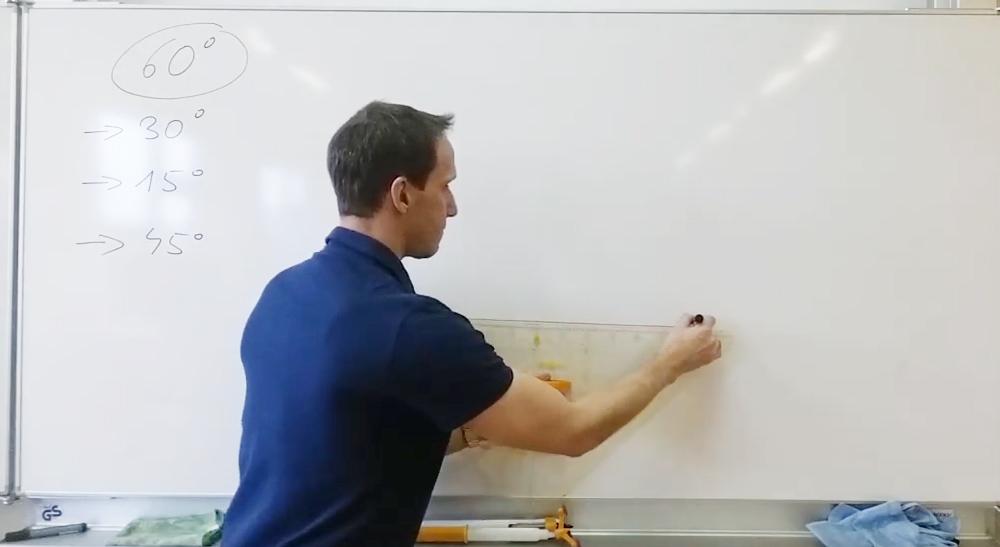 Winkelskonstruktion ohne Winkelmesser | thewhiteclassroom.at