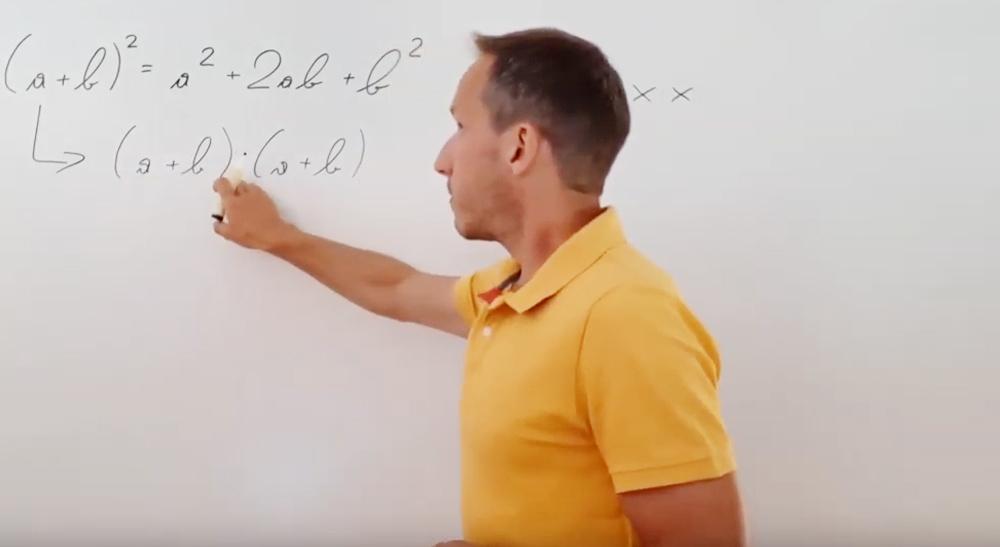 Binomische Formeln - Herleitungen | thewhiteclassroom.at